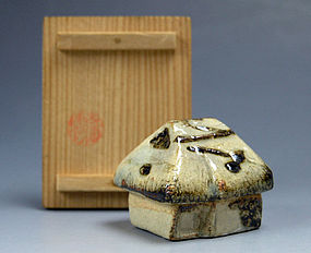 Japanese Ceramic Kogo (Incense Container)