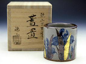 Kyo-Yaki Futaoki by Kaga Zuizan III