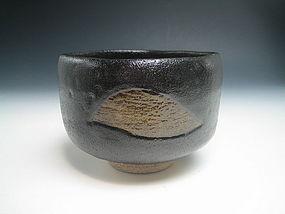 Raku Chawan by Nishimura Ichiraku