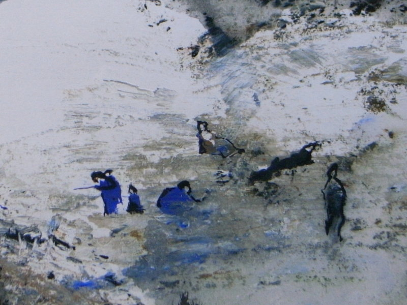 Painting by David Theyre Lee-Elliott