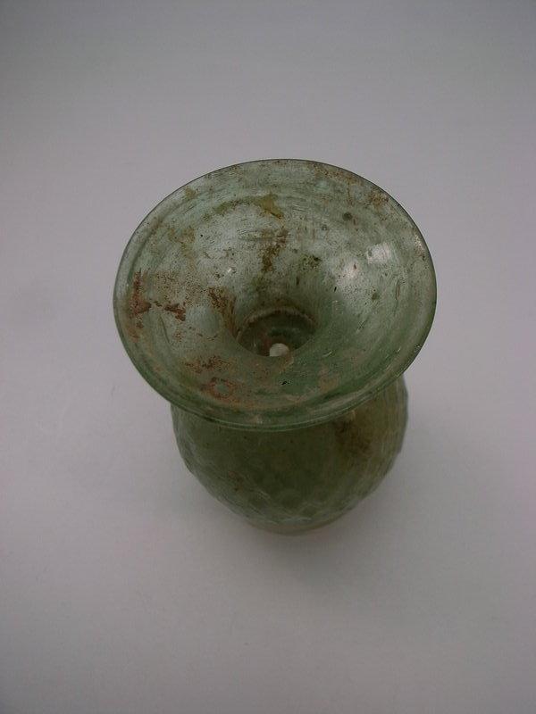 Roman Glass, Flask, 3rd century AD
