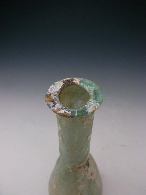 Roman Glass, Syrian Unguentarium, 2~3 c. AD