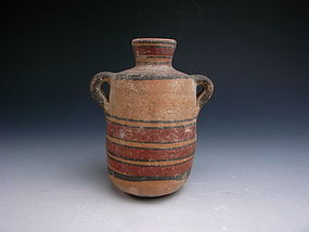 Bronze Age Polychrome Cypriot Jar