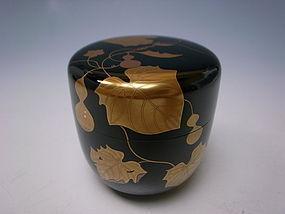 Maki-e Lacquer Natsume by Nakamura Soin