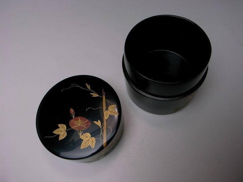 Maki-e Lacquer Natsume by Hosei (a)