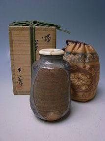 Bizen Chaire by Moritoki Taiyu (a)