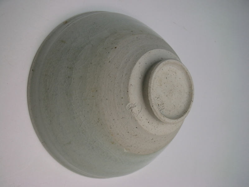 White Tenmoku Chawan by Kato Tozaburo