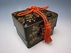 Antique Meiji Period Maki-e Lacquer Box