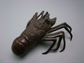 Antique Japanese Bronze Paperweight