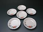 Vintage Kakiemon XII Porcelain Plate Set