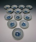 Antique Chinese Porcelain Bowl Set