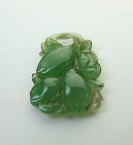 Vintage Jadeite Pendant Stone