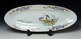 Rare Meiji Period Imari Porcelain Platter