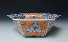 19th Century Imari Porcelain Bowl (b)
