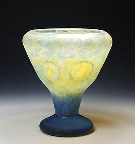 Art Nouveau Daum Nancy Intercalaire Glass Cup
