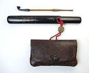 Edo-Meiji Period Kiseru Set