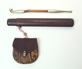 Meiji Period Kiseru Set