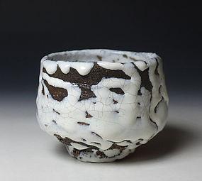 Oni-hagi Chawan by Shibuya Deishi