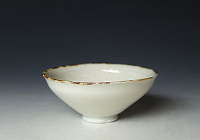 Edo-Meiji Period Porcelain Shuhai by Eiraku Wazen