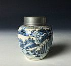 Edo-Meiji Period Sometsuke Chashinko