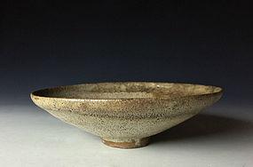 Momoyama-Edo Period Ko-karatsu Hira-jawan