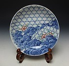 Meiji Period Set of Five Nabeshima Porcelain Plates