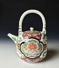 Edo Period Imari Porcelain Teapot