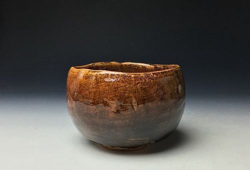 Ame-yu Chawan by Ohi Chozaemon X