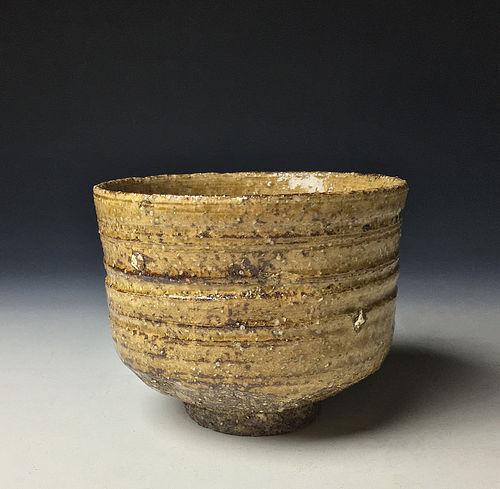 Ki-irabo Chawan by Kiyomizu Rokubei VI