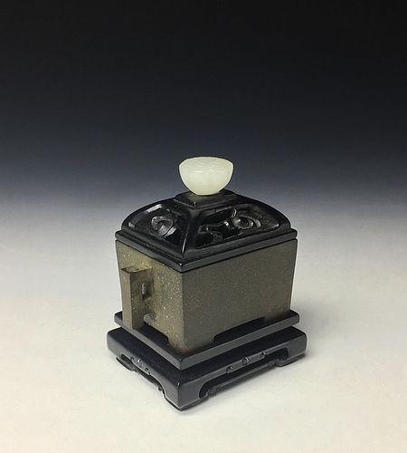 Antique Chinese Bronze Incense Burner