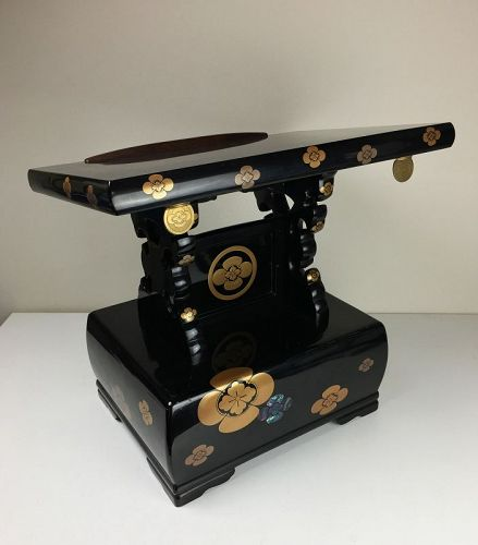 Taisho Period Lacquer Reading Stand