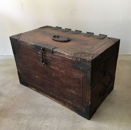 Edo Period Calligraphy Chest