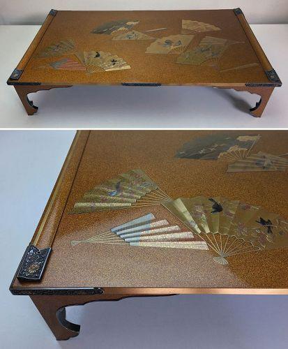Edo Period Maki-e Lacquer Writing Table by Koma Kansai