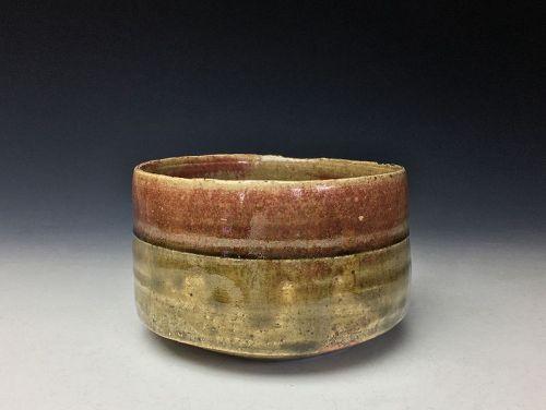 Ki-seto Chawan by Kato Shuntei II