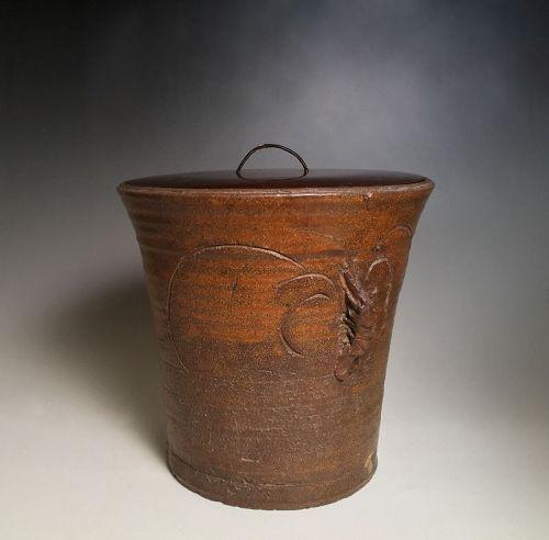 Edo Period Tokoname Mizusashi, Urasenke