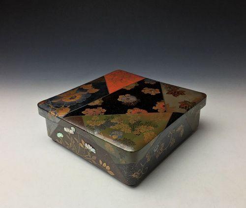 Meiji-Taisho Period Maki-e Lacquer Box