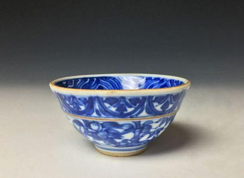 Meiji Period Sometsuke Sakazuki by Eiraku