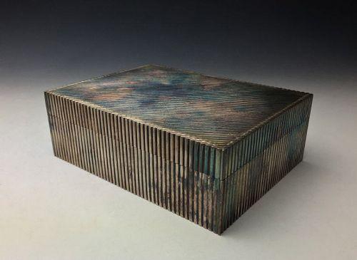 Silver Box Signed Mitsuharu