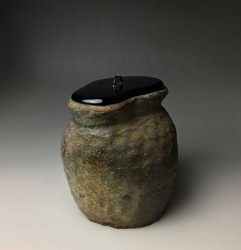 Muromachi Period Tokoname Mizusashi