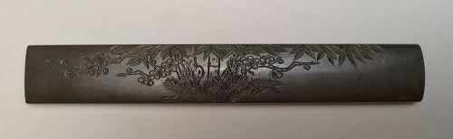 Edo Period Kozuka by Goto Mitsumi