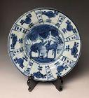 Ming Dynasty Ko-sometsuke Plate