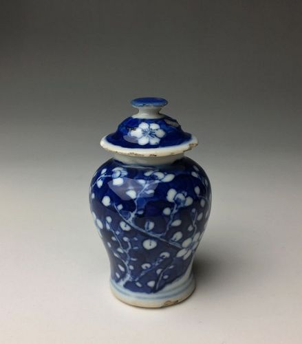 Antique Chinese Qing Dynasty Miniature Jar