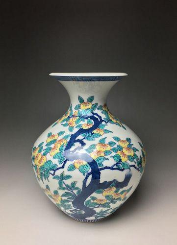 Vase by Imaemon XII