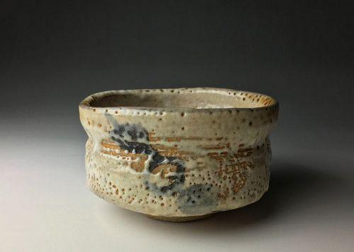 Edo-Meiji Period Shino Chawan