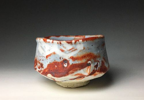Shino Chawan by Kato Takuo, LNT