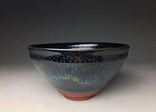 Tenmoku Chawan by Shimizu Uichi LNT
