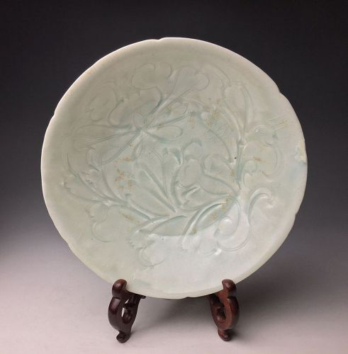 Chinese Song Dynasty Celadon Dish