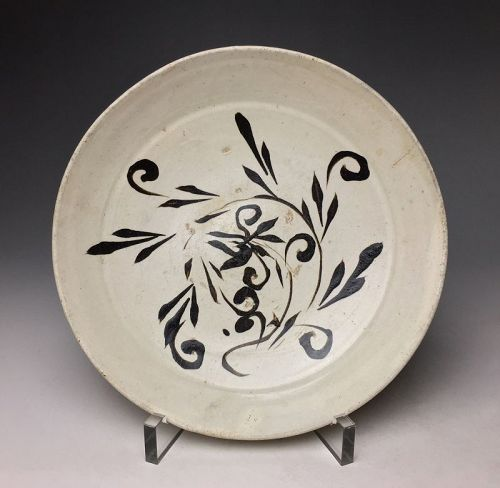 Chinese Cizhou Plate