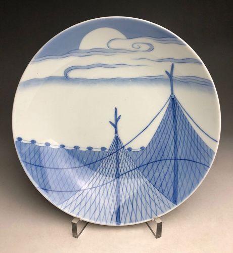 Meiji Period Nabeshima Porcelain Plate
