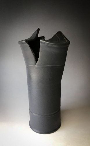 Black Vase by Pino Castagna